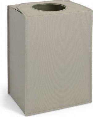 Сумка для белья прямоугольная 55л серая Brabantia 101700