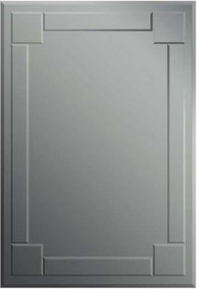Зеркало 95x65см с фацетом и декором из зеркал серебристого оттенка Dubiel Vitrum KOMBI S 5905241011202
