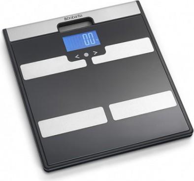 Весы электронные напольные чёрные с мониторингом веса 160кг/100гр Brabantia 481949