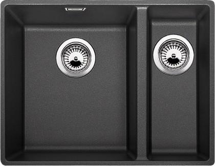 Кухонная мойка без крыла, с клапаном-автоматом, гранит, антрацит Blanco SUBLINE 340/160-F 519802