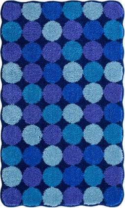 Коврик для ванной 60x100см синий Grund AGARTI 3618.16.185