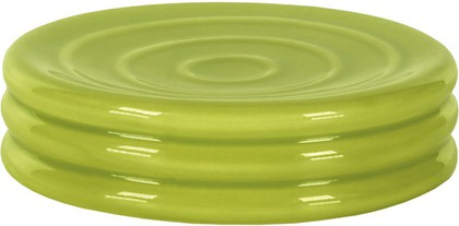 Мыльница керамическая зелёная Kleine Wolke LIPSY 5801625853