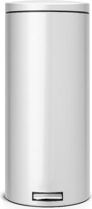Мусорный бак 30л с педалью, MotionControl, серый металлик Brabantia 478789