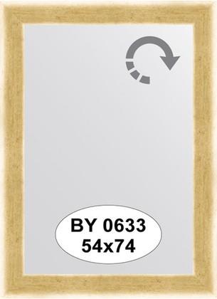 Зеркало 54x74см в багетной раме травлёное золото Evoform BY 0633