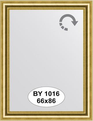Зеркало 66x86см в багетной раме старое золото Evoform BY 1016