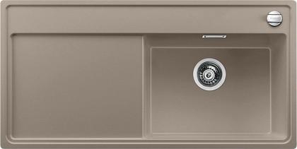 Кухонная мойка чаша справа, крыло слева, с клапаном-автоматом, гранит, серый беж Blanco ZENAR XL 6 S 519279