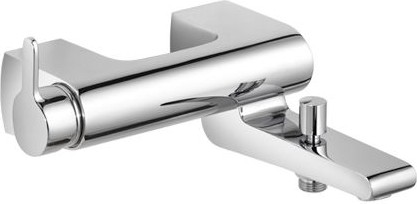 Однорычажный смеситель для ванны с душем, хром Keuco ELEGANCE 51620010100