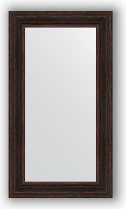 Зеркало в багетной раме 62x112см темный прованс 99мм Evoform BY 3094