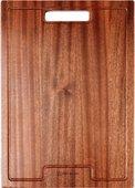 Разделочная доска деревянная, венге Omoikiri CB-01-WOOD 4999005