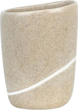Стакан песочного цвета Spirella ETNA STONE 1014345