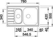 BLANCO LIVIT 6 S Compact вид сверху
