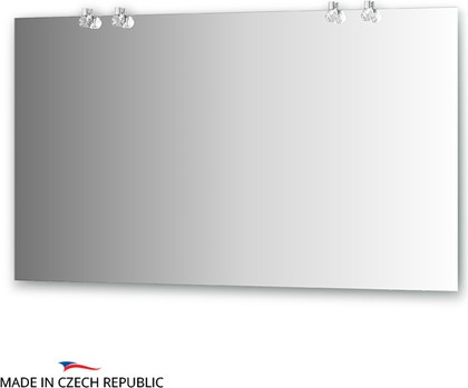 Зеркало со светильниками 130х75см Ellux CRY-D4 0216