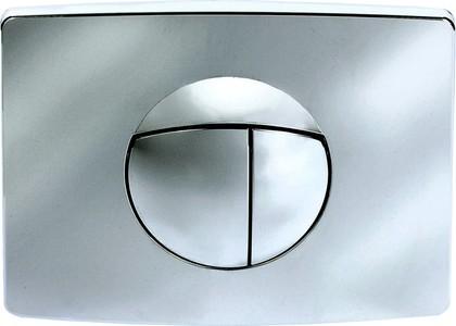 Клавиша смыва для инсталляции для унитаза, хром глянцевый Sanit 16.701.81..0000