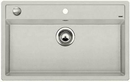 Кухонная мойка без крыла, с клапаном-автоматом, гранит, жемчужный Blanco DALAGO 8 520546