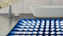 Коврик для ванной 60x60см синийGrund KARIM 07 3644.64.048