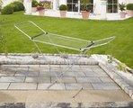 Сушка для белья напольная алюминиевая, 18м Leifheit Siena 180 81151