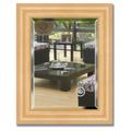 Зеркало 42x52см с фацетом 30мм в багетной раме сосна Evoform BY 1355