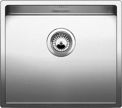 Кухонная мойка без крыла, нержавеющая сталь зеркальной полировки Blanco CLARON 450-U 517215