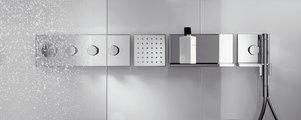 Термостат для душа встраиваемый без встраиваемого механизма и без подключения шланга, хром Hansgrohe Axor ShowerCollection 10751000