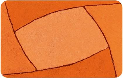 Коврик для ванной 60x90см оранжевый Spirella FOCUS 1014195