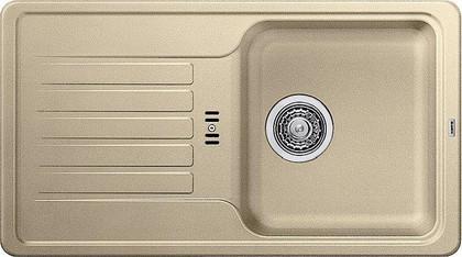 Кухонная мойка оборачиваемая с крылом, гранит, шампань Blanco FAVOS Mini 518185