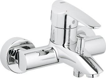 Смеситель однорычажный для ванны, хром Grohe WAVE 32286000