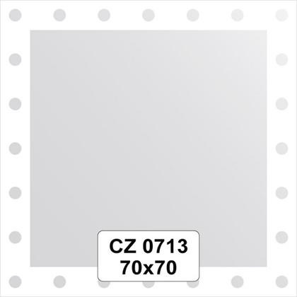 Зеркало для ванной с орнаментом 70x70см FBS CZ 0713