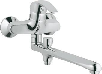 Смеситель однорычажный для ванны, хром Grohe EUROSMART 33116001