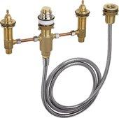 Базовый набор для установки смесителя на 4 отверстия на край ванны Hansgrohe 13244180
