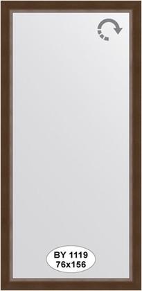 Зеркало 76x156см в багетной раме орех Evoform BY 1119