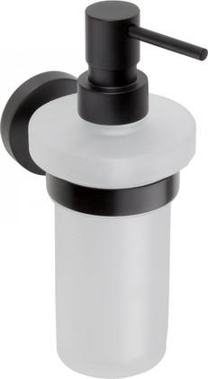 Настенный дозатор для жидкого мыла Bemeta DARK 104109010