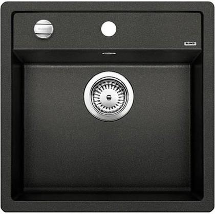Кухонная мойка без крыла, с клапаном-автоматом, гранит, антрацит Blanco DALAGO 5 518521