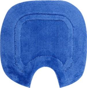 Коврик с вырезом под туалет 55x50см синий Grund GRANDE 101.04.8117