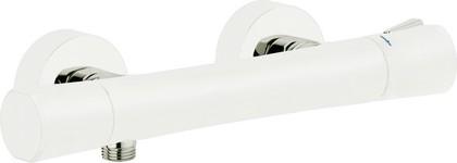 Термостат для душа с подключением шланга, белый / хром Kludi ZENTA 351009138