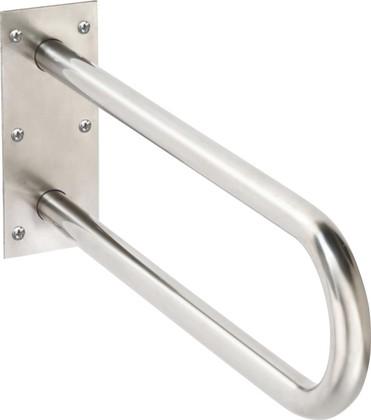 Опорный U-образный поручень для инвалидов 600мм, нержавеющая сталь Bemeta 30110205
