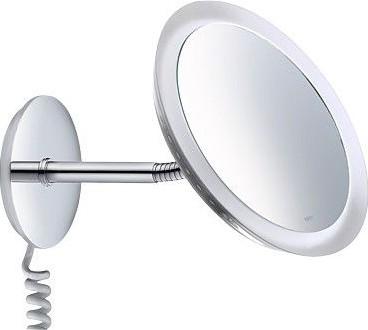 Зеркало косметическое Ø21.8см настенное с подсветкой Keuco BELLA VISTA 17605019001