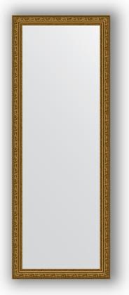 Зеркало в багетной раме 54x144см виньетка состаренное золото 56мм Evoform BY 3103