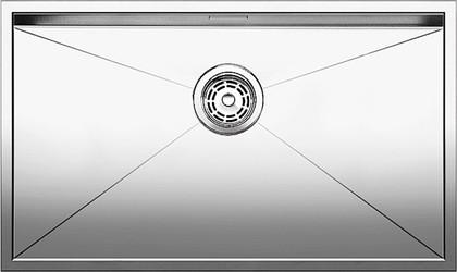 Кухонная мойка без крыла, нержавеющая сталь зеркальной полировки Blanco ZEROX 700-U 517249