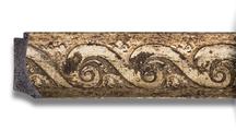 Зеркало 66x96см с фацетом 30мм в багетной раме фреска Evoform BY 1279