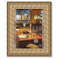 Зеркало 44x54см с фацетом 30мм в багетной раме медный эльдорадо Evoform BY 1365