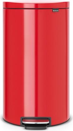 Мусорный бак 30л, пламенно-красный Brabantia FlatBack+ 484988