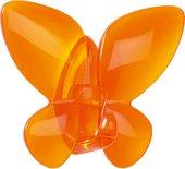 Крючок самоклеящийся оранжевый Spirella MARIPOSA 1013945