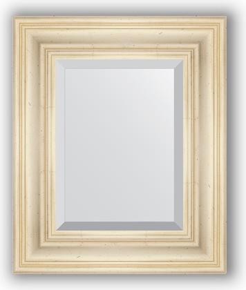 Зеркало с фацетом в багетной раме 49x59см травленое серебро 99мм Evoform BY 3367