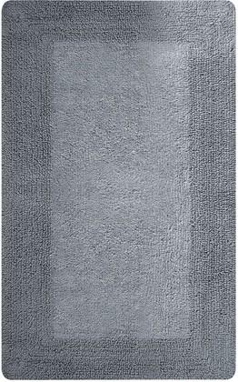 Коврик для ванной комнаты 70x120см серый Spirella GAIA 1018049