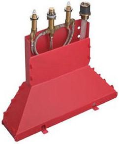 Скрытая часть смесителя для ванны на 4 отверстия Hansgrohe 13444180