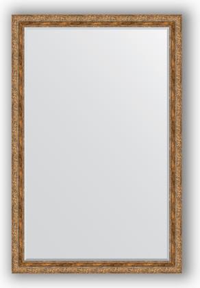 Зеркало с фацетом в багетной раме 115x175см виньетка античная бронза 85мм Evoform BY 3618