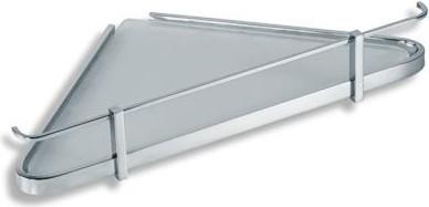 Полка для ванной угловая с ограждением Novaservis 6458.0