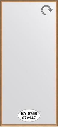 Зеркало 67x147см в багетной раме вишня Evoform BY 0756