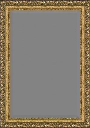 Зеркало 75x105см с фацетом 30мм в багетной раме виньетка бронзовая Evoform BY 1300