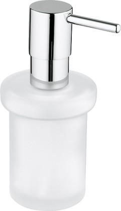 Дозатор стеклянный для жидкого мыла без держателя Grohe ESSENTIALS 40394000
